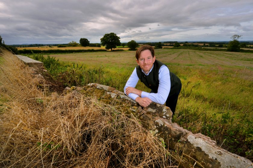 Bradford Estates MD Alexander Newport says he believes soil is 'critical' to the business (Photo: MNA Media)