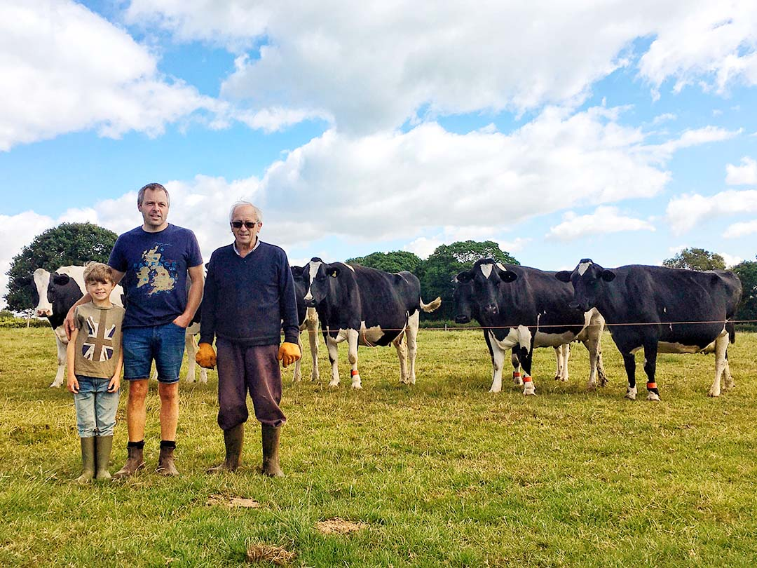 The Holliday family have been tenant farmers at Westridge Farm for over 50 years (Photo: Save Westridge Farm)