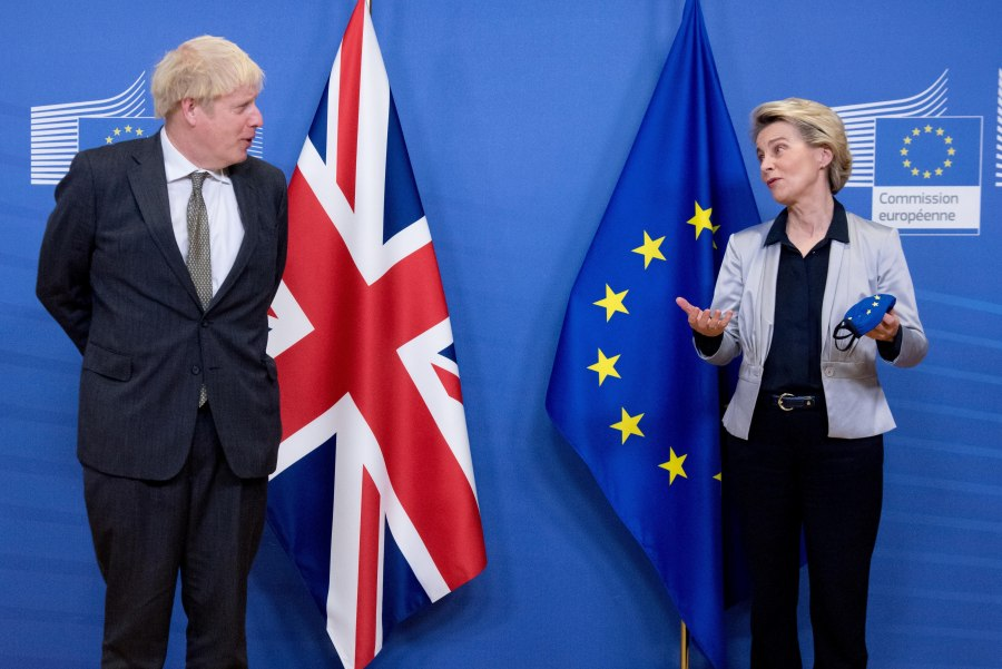 The UK and EU have warned they are unlikely to reach a deal (Photo: Chine Nouvelle/SIPA/Shutterstock)