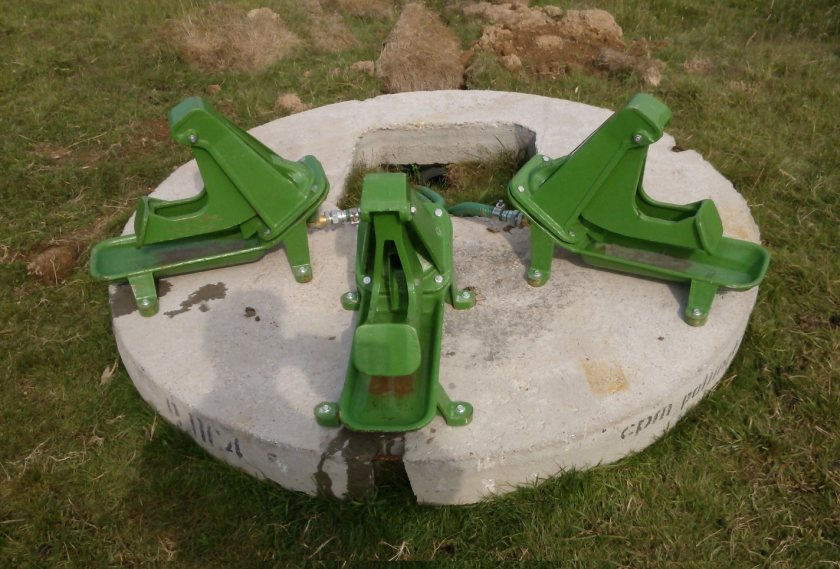 Many farmers are familiar with the traditional cast-iron pasture pump