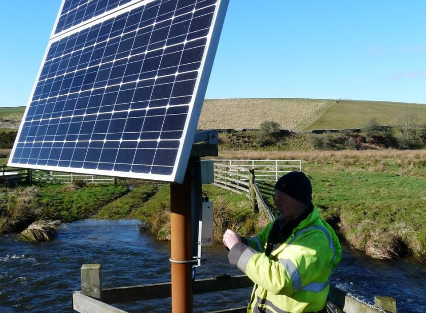 Farmers also trialled a solar only system