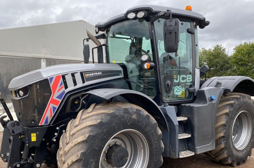 Sales in 2020 included a 25-year limited edition JCB 4220 Fastrac