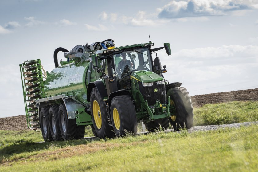 The 7R 330 model has set a new standard for tractors above 250hp