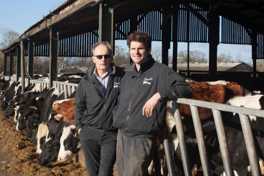 Simon Dann and his son Alex run a 629-acre mixed farm near Dereham