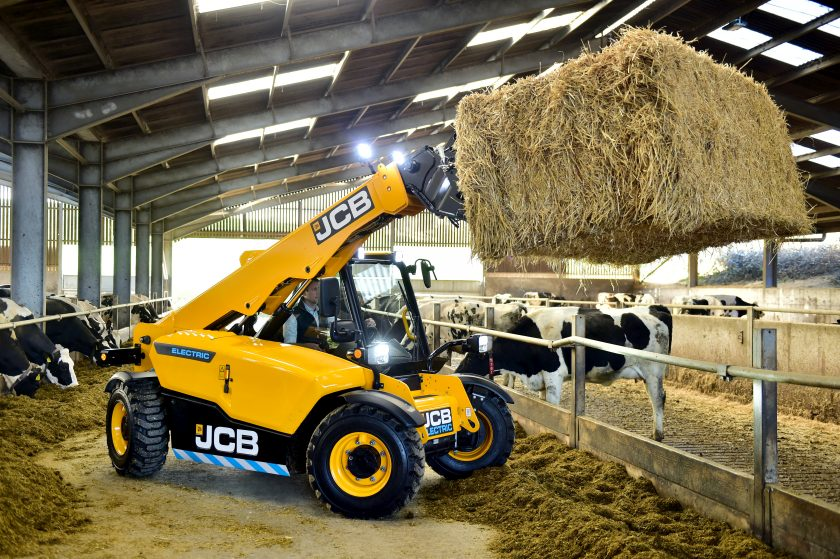 In November last year, JCB launched its electric telehandler 525-60E Loadall
