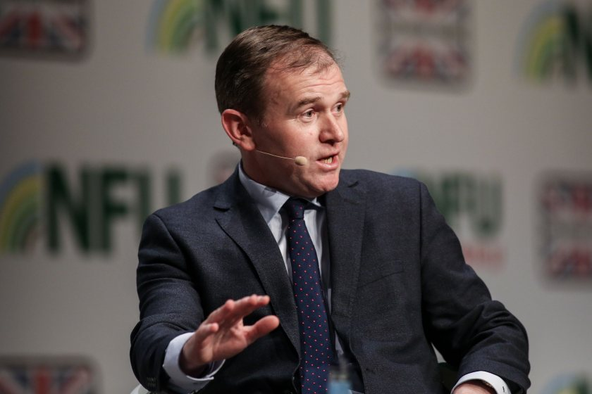 George Eustice thanked food producers as being 'the hidden heroes of the pandemic'