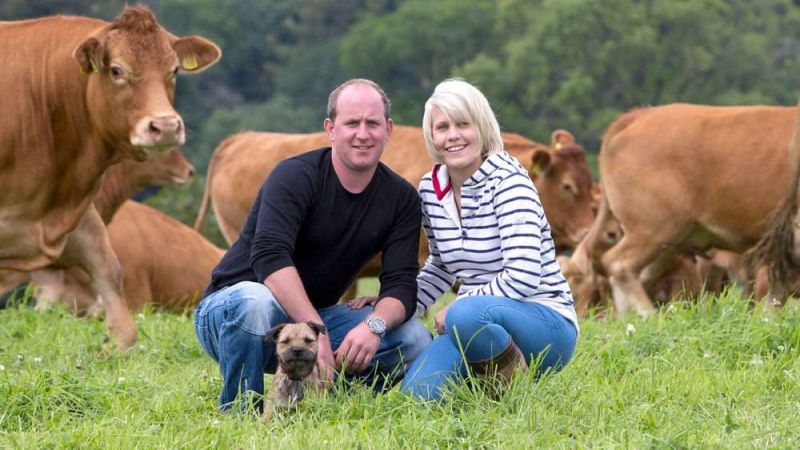The programme follows farming families over the course of a year