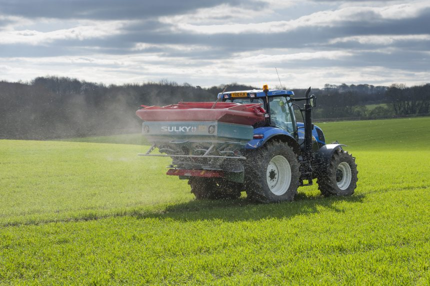 The NFU believes that farmers in England need continued access to untreated solid urea