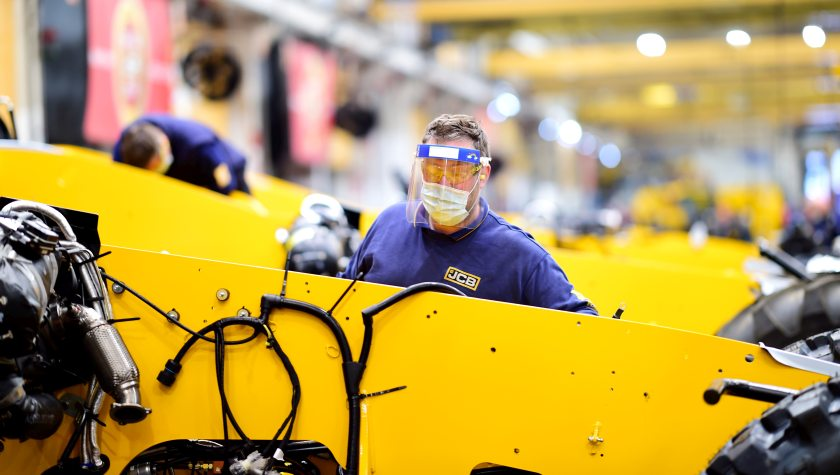 JCB is looking to recruit more than 400 new employees