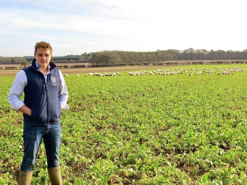 James Burman, 21, is calling for farmers to assist with his final year project