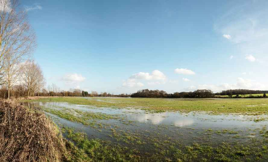 Many farmers have suffered catastrophic consequences of flooding from extreme weather events