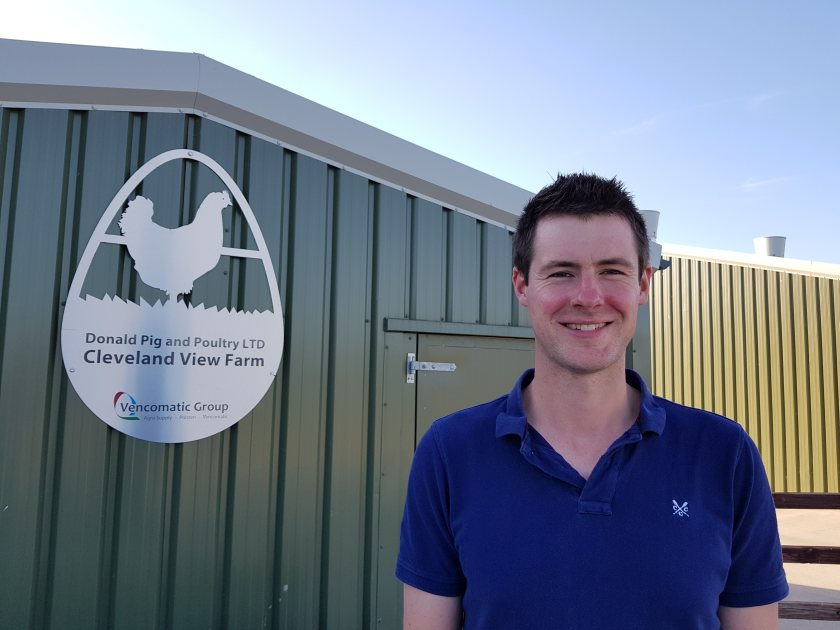 Matt Donald has already found the benefits of upgrading his egg production systems