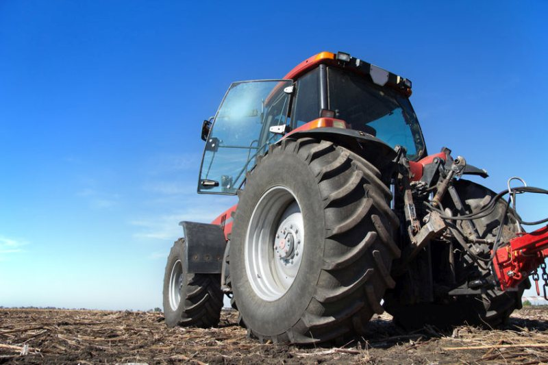 586 new tractors were registered in January 2021 in the UK