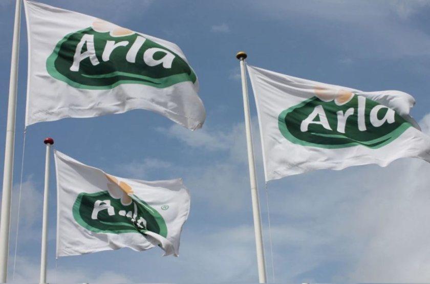 Arla UK's total revenue increased from £1.95 billion to £2.12 billion last year