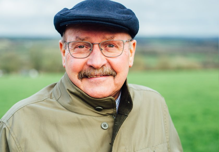 Laurence Harris owns one of the largest organic farming businesses in Wales