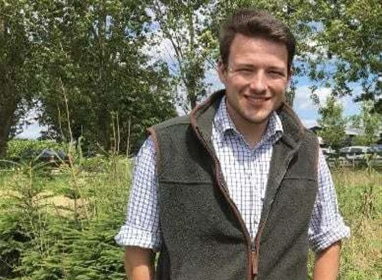 Dan Goodwin works as an ambassador for the charity the Farm Safety Foundation