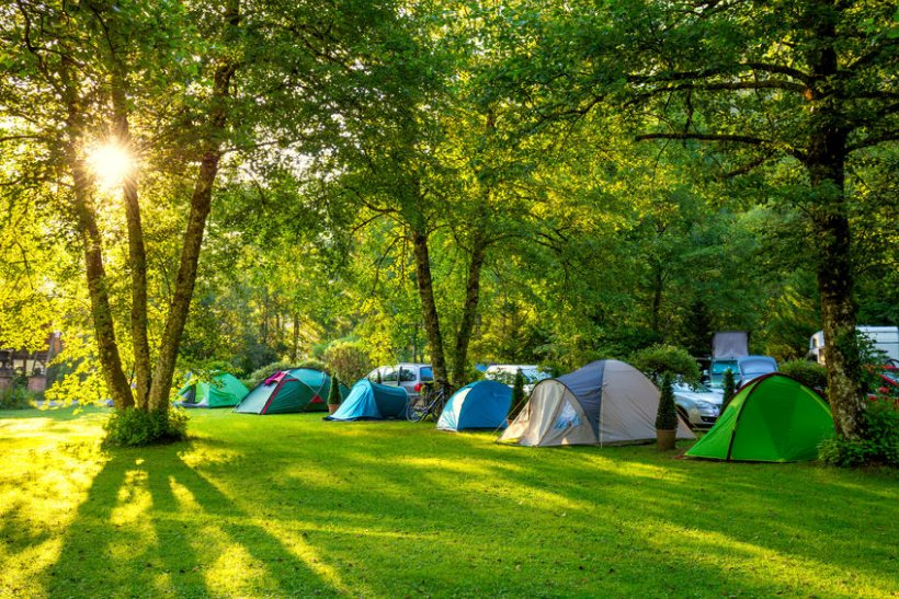 The campsite guide comes ahead of this summer's potential staycation boom