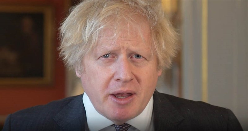 Boris Johnson made the pledge in a recorded message to the virtual NFU Conference