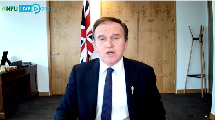 George Eustice said farmers will be able to shape the design of the Sustainable Farming Incentive