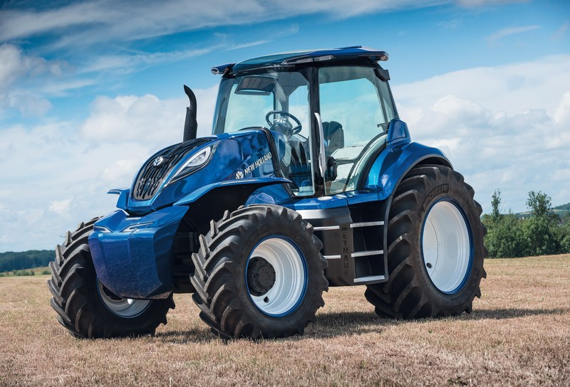 The T6.180 is the world's first 100% methane powered production tractor