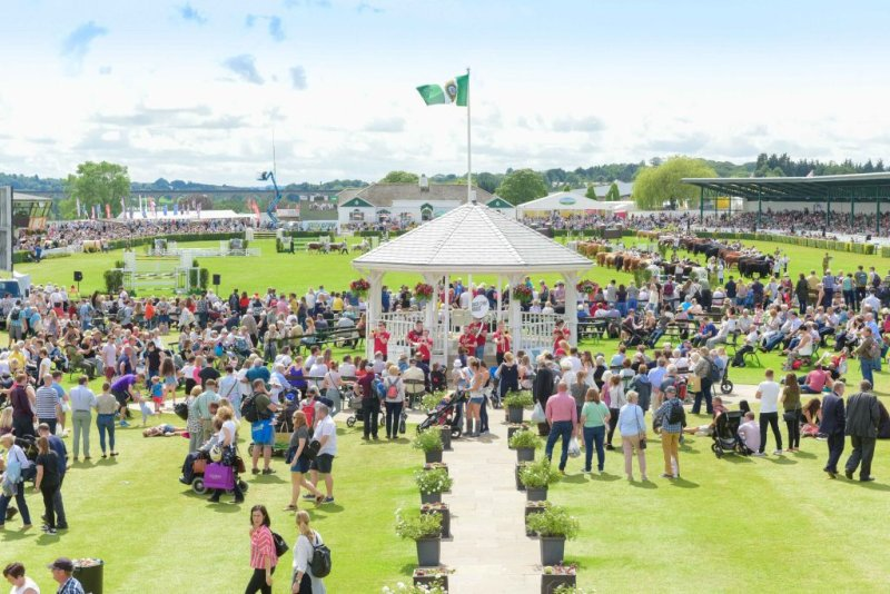 Last year's Great Yorkshire Show was cancelled for the first time since the foot and mouth outbreak in 2001