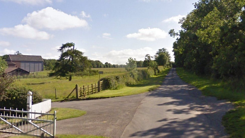 The sheep remains were discovered in a field at Highfield Farm, Cadwell (Photo: Google Maps)