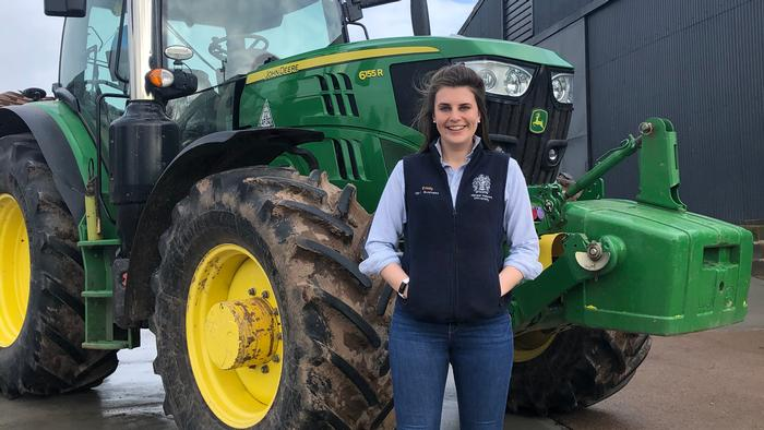 Emily Jones wants to consider the best ways to drive change in order to reduce farm accidents