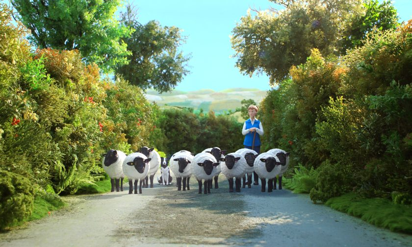 Every scene and model in Red Tractor's new advert has been handmade