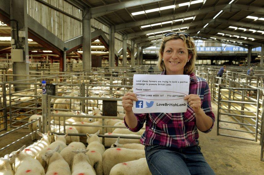 Rachel Lumley began the Love Lamb campaign in 2015 (Photo: Jonathan Becker of Becker Photo)