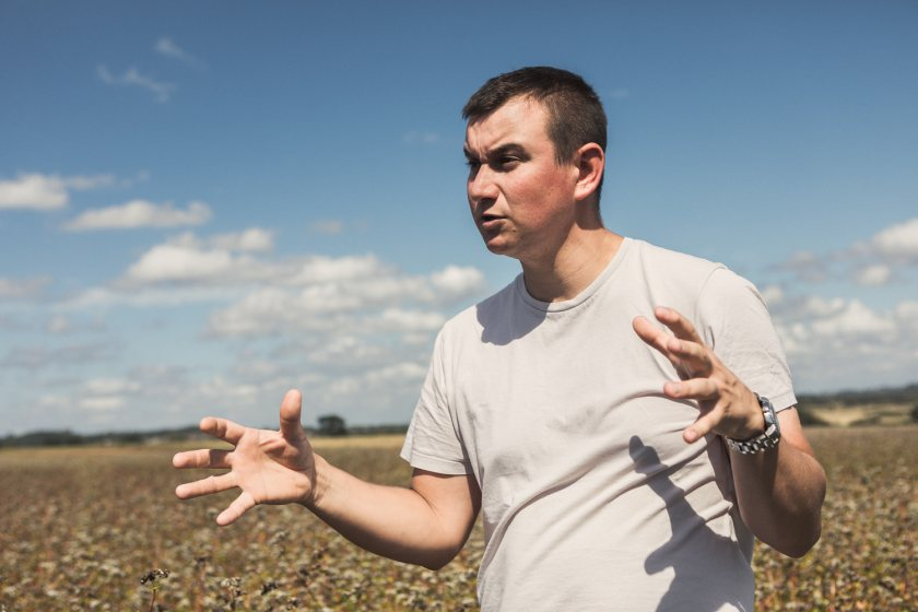 Since returning to his family farm in Essex, George Young has made a radical switch to an agroecological system