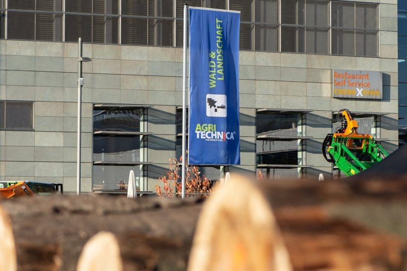 Agritechnica was due to take place in Hanover, Germany later this year