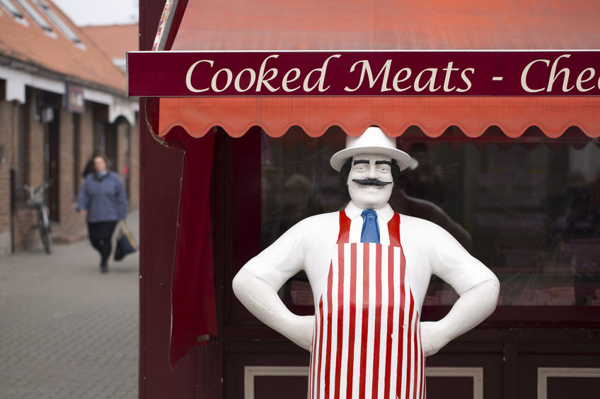 High-street butcher's shops have enjoyed a bumper year over the last 12 months
