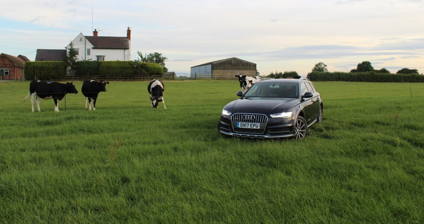 Some farmers have been offering their land as temporary car parks (Photo: NFU)