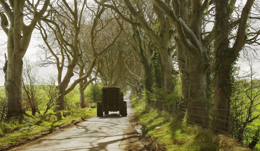 The safety warning comes as farmers will be driving on public roads more frequently