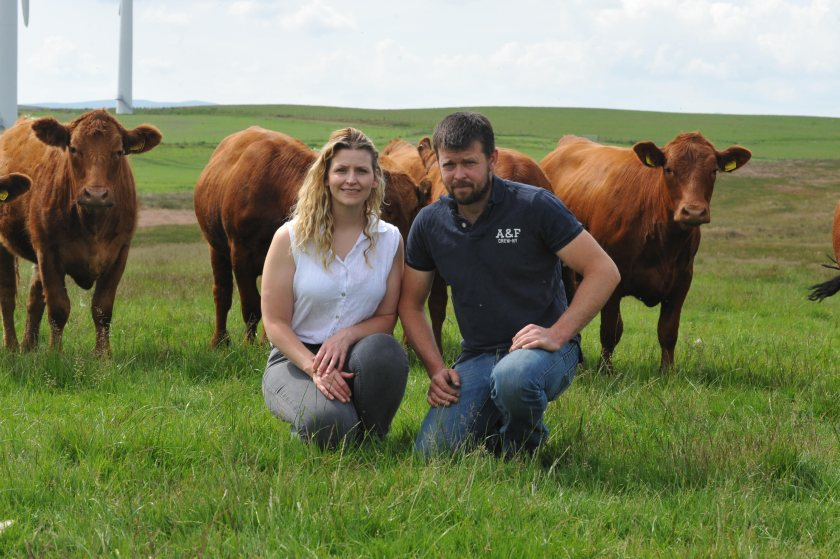Welsh farmers Llion and Sian Jones are using new ag-tech to enhance breed performance