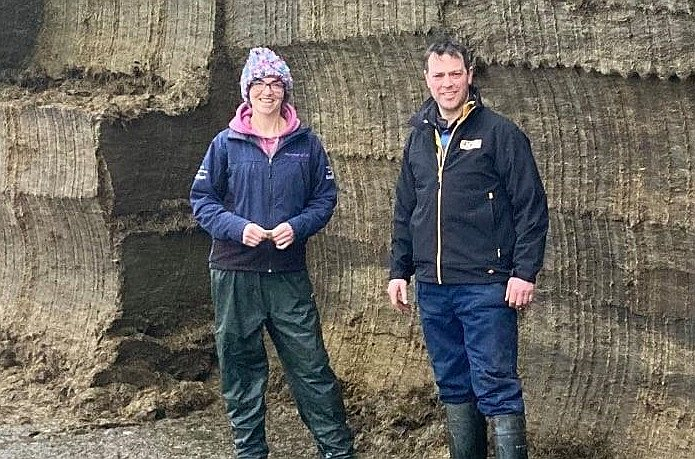 The Llysyfran dairy business is run by brother-and-sister team Nigel Williams and Joy Smith