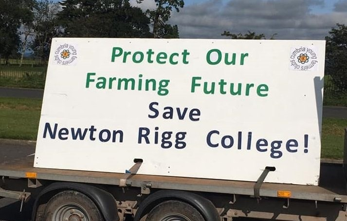 Campaigners aim to welcome learners to the new Newton Rigg College in 2024-2025 (Photo: Cumbria YFC)
