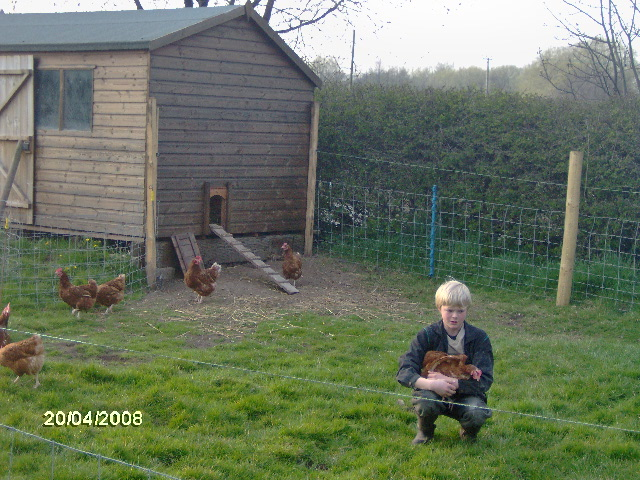 Aged 8, Sam was given four hens by his neighbours and he began selling eggs at the farmgate