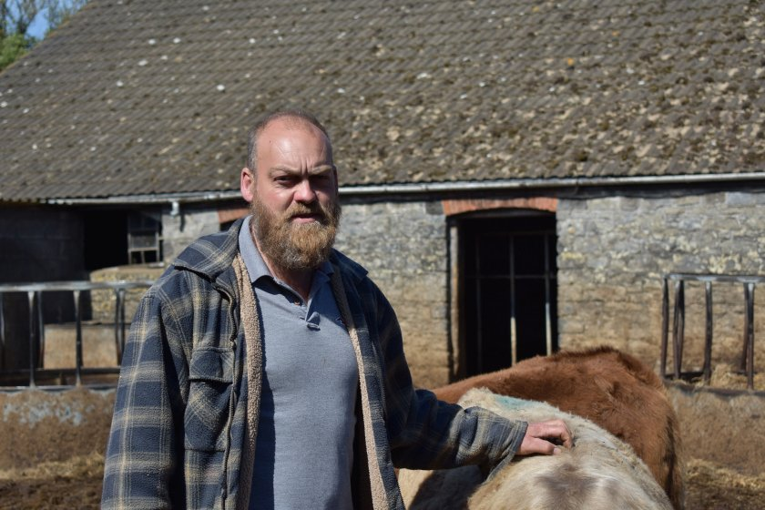 Beef producer Richard Walker said the new rules were going to have a 'huge impact' on his business