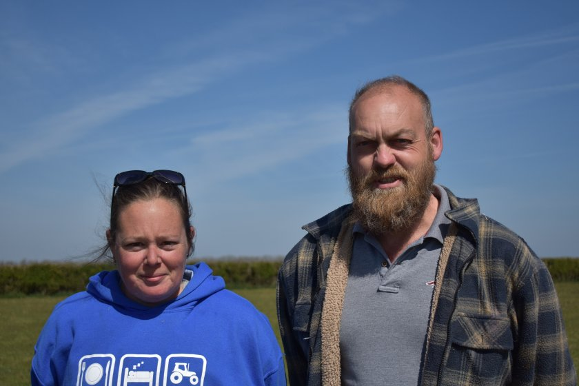 The farming couple said the new pollution regulations would be too expensive to follow