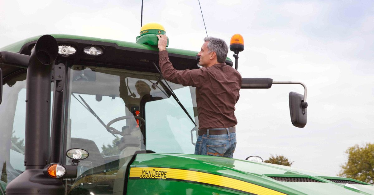 NFU Mutual is warning farmers to increase their security amid a 'spring surge' in GPS thefts