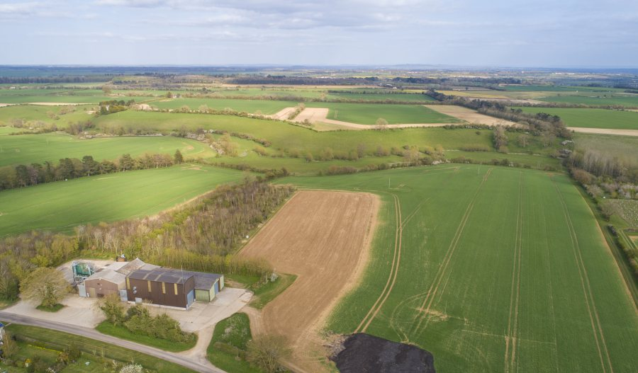 The 1,100 acres on offer is split into three lots