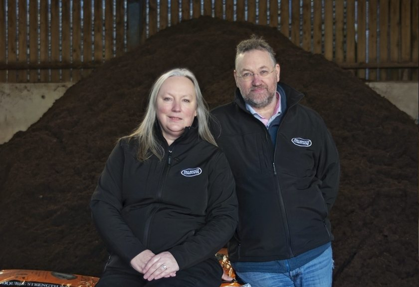 The farmers' eco compost has been shortlisted for the first ever RHS Chelsea sustainable garden product award