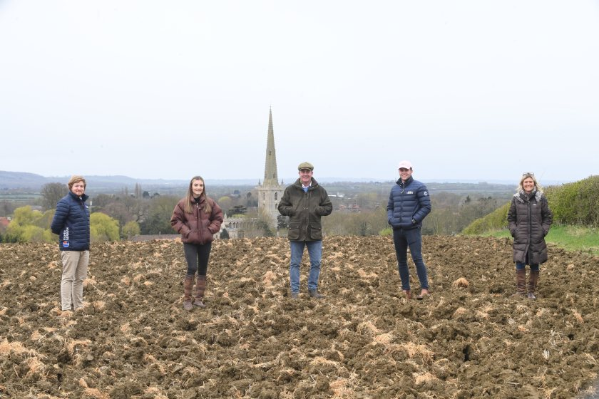 The Goodson farming family want to provide the public a peaceful environment for remembrance