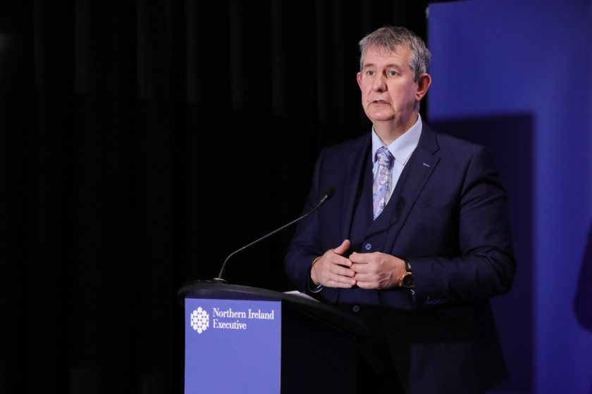 Edwin Poots warned that Australia had a 'number of distinct advantages' over the NI farming sector