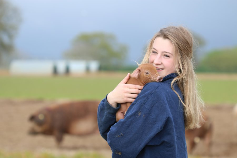 Grace is heavily involved in the farm and has played a key role in strengthening the brand