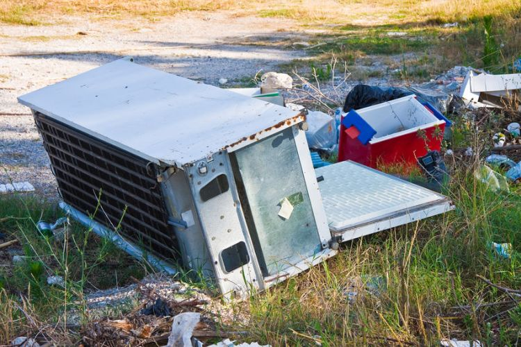 The survey results showed that farmers were most affected by large-scale fly-tipping