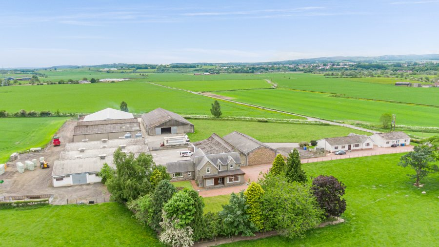 Dykes Farm has been described as a productive and well-maintained farm by Galbraith