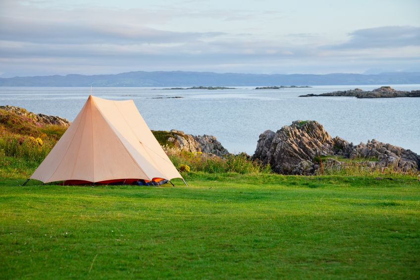 Some farmers have made the most out of this year's 'staycation' boom by hosting pop-up campsites