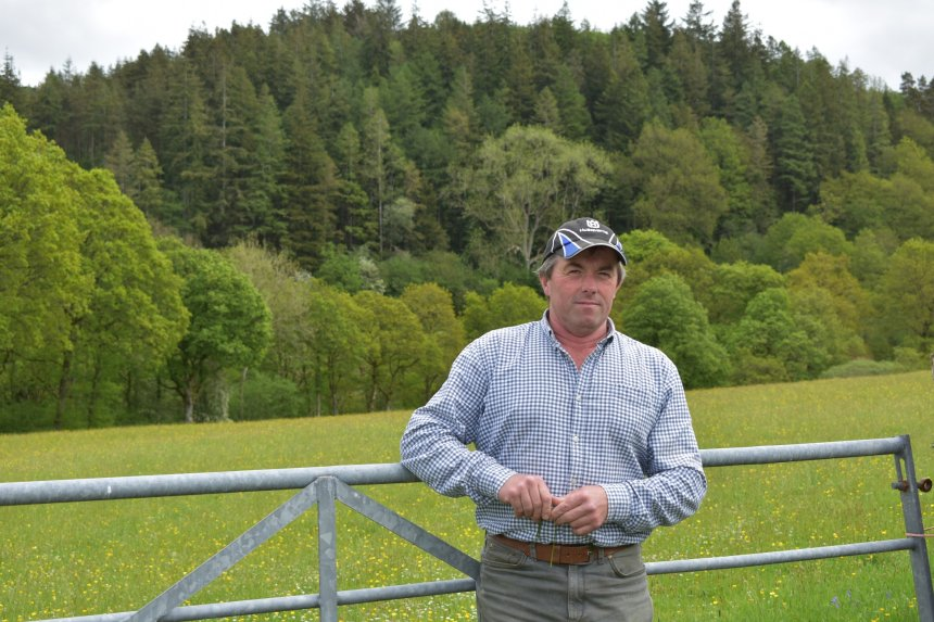 Carwyn Jones says his livestock play an intrinsic part when it comes to biodiversity